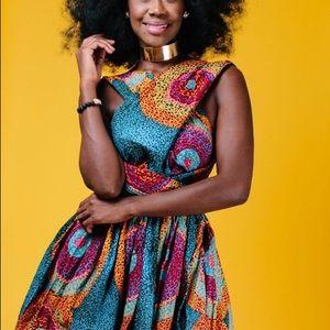 Dresses & Skirts - African dashiki dress